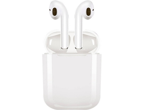 Auriculares Bluetooth True Wireless MUVIT Special MUHPH0120 (In Ear - Microfone - Branco)