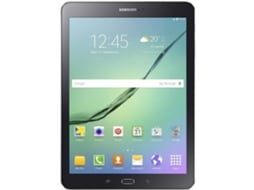 Tablet 9.7'' SAMSUNG 4G+WiFi TAB S2 Preto — 9.7'' | 32 GB | Android Marshmallow