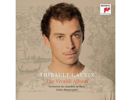 CD Thibault Cauvin - The Vivaldi Album — Clássica