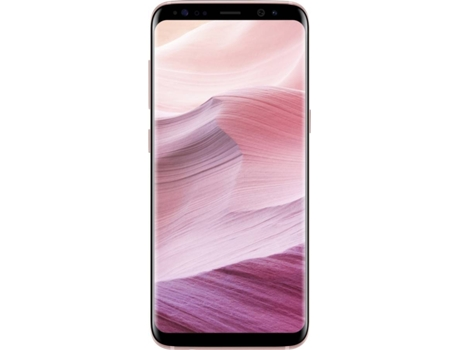 Smartphone SAMSUNG Galaxy S8 64 GB Rosa — Android 7.0 | 5.8'' | Octa core 4x2.3 + 4x1.7 GHz | 4 GB RAM
