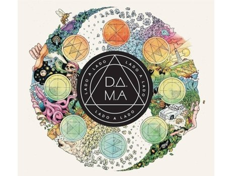 CD D.A.M.A. - Lado a Lado — Pop-Rock