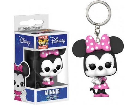 Porta-Chaves FUNKO POP! Disney: Minnie — Disney