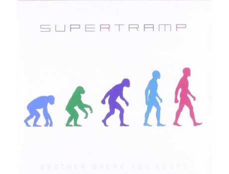 CD Supertramp - Brother Where You Bound — Pop-Rock