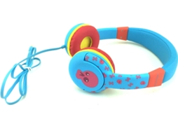 Auscultadores Com fio GOODIS Googoos GDHP2843BL (On Ear - Microfone - Multicor) — On Ear | Microfone