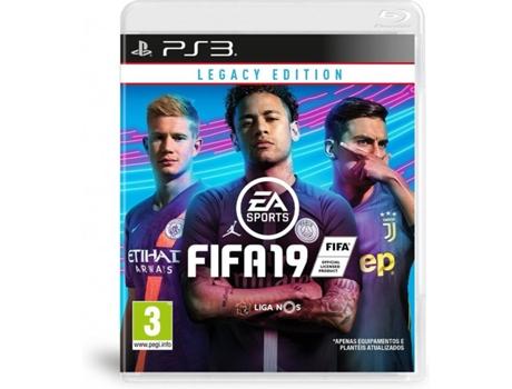 5f2915e59a Jogo PS3 FIFA 19 Legacy Edition