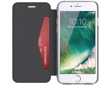 Capa GRIFFIN Wallet iPhone 7, 8 Preto — Compatibilidade: iPhone 7, 8