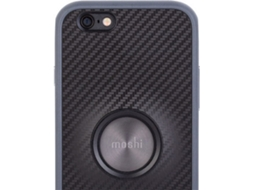 Capa MOSHI Endura iPhone 6/6S Carbon Preto — Capa / iPhone 6/6S