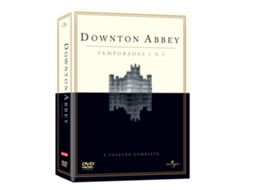 DVD Downton Abbey - Temporadas 1 a 5 — De:  | Com: Hugh Bonneville, Phyllis Logan, Elizabeth McGovern