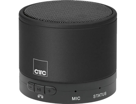 Mini Coluna BT CLATRONIC BSS 7006 Preto — Bluetooth