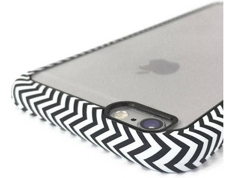 Capa I-PAINT Ghost Waves iPhone 6, 6s Preto — Compatibilidade: iPhone 6, 6s