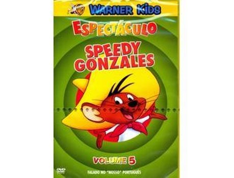 DVD Espectáculo Speedy Gonzalez - Volume 5 — Do realizador Looney Tunes