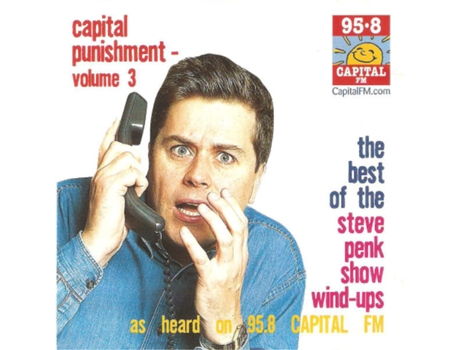 CD Steve Penk - Capital Punishment - Volume 3