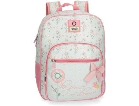 Menor preço em mochila escolar sport rosa estampa