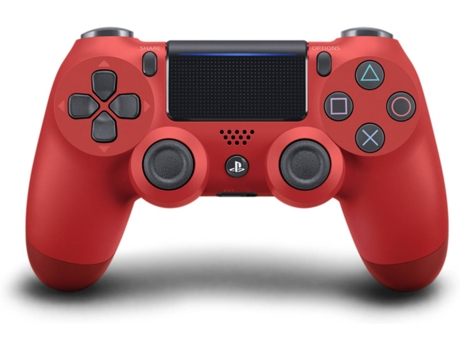 Comando PS4 Dualshock Magma Red v2 (Wireless) — PS4