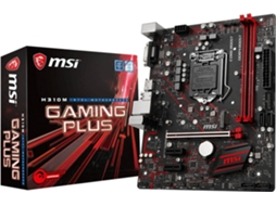 Motherboard MSI H310M Gaming Plus — LGA1151 | H310