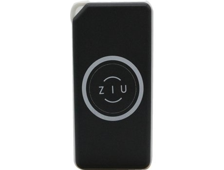 PowerBank ZIU Wireless Qi charge 6000 mAh Preto — Compatibilidade: Universal com Qi