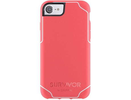 Capa GRIFFIN  Journey iPhone 6/7 Coral/White — Compatibilidade: iPhone 6/7