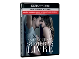 Blu-Ray 4K + Blu-Ray Cinquenta Sombras Livre — De: James Foley | Com: Dakota Johnson, Jamie Dornan, Eric Johnson