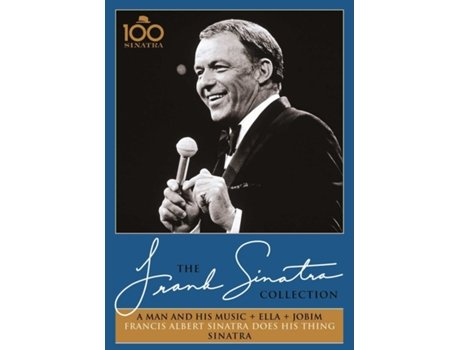 DVD The Frank Sinatra Collection - A Man and His Music + Ella + Jobim — Jazz