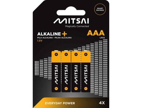 Pilhas Não Recarregáveis MITSAI LR3 (AAA - 4 Unidades) | [6671277 ]