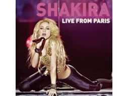 CD + DVD Shakira - Live From Paris — Pop Rock