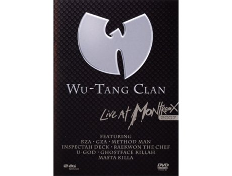 DVD Wu-Tang Clan - Live At Montreux 2007