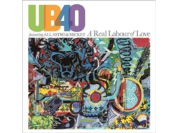 CD UB40 feat Ali, Astro & Mickey - A Real Labour of Love — Pop-Rock