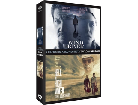 Pack DVDs Wind River + Hell or High Water — Pack 2 Filmes