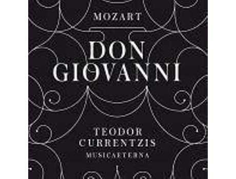 CD Teodor Currentzis - Mozart: Don Giovanni — Clássica