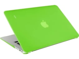 Capa ARTWIZZ Rubber Clip MacBook Air 13'' Verde — Compatibilidade: MacBook Air 13''