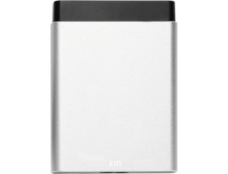 Powerbank JUST MOBILE AluCharge (6200 mAh - 4 USB - Prateado) — 4 USB