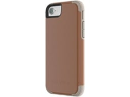 Capa GRIFFIN Prime iPhone 6, 6s, 7, 8 castanho — Compatibilidade: iPhone 6, 6s, 7, 8