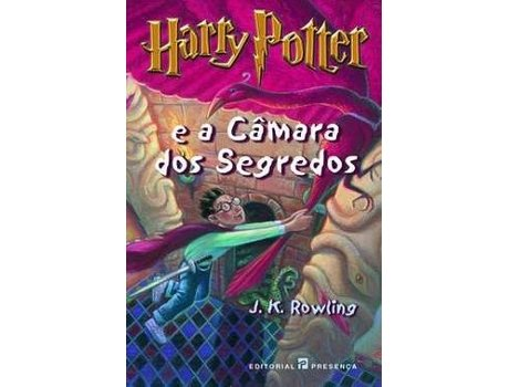 PRESENCA - Livro Harry Potter e a Câmara dos Segredos de J. K. Rowling (Português - 2004)