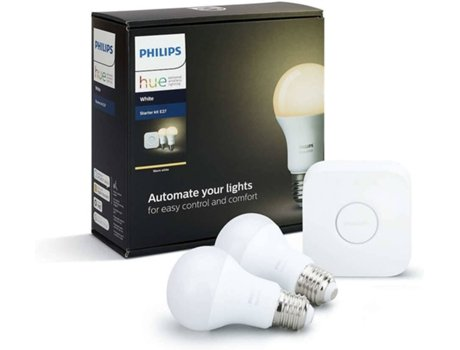 Kit Starter PHILIPS HUE 9.5W 2x A60 E27 — Kit | Smart Lighting