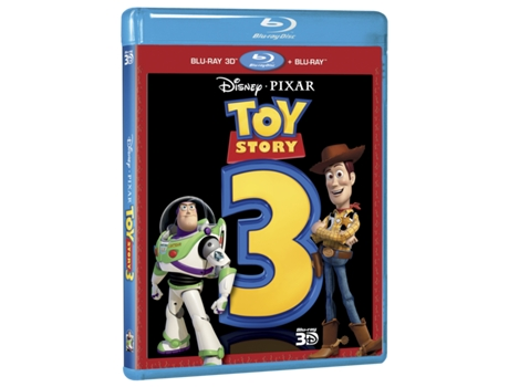 Blu-Ray 3D + 2D Toy Story 3 — Do realizador Lee Unkrich