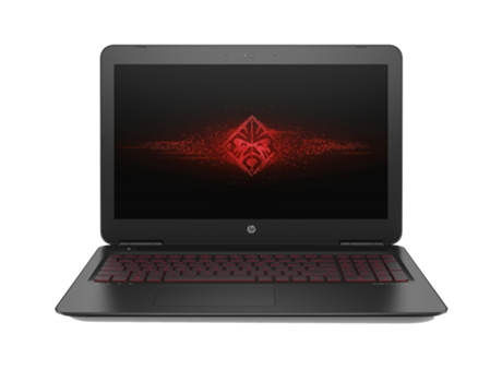 Portátil Gaming 15.6'' HP OMEN15-ax205np — Intel Core i7-7700HQ / 16 GB / 512 GB