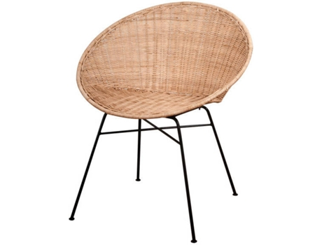 Cadeira Rattan CVintage Domingoa Natural — Tropical / Náutico - Rattan Natural