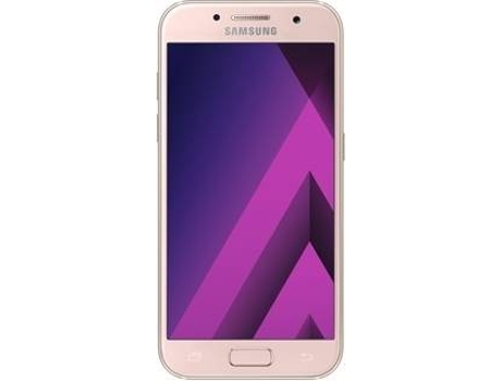 Smartphone SAMSUNG Galaxy A3 2017 16GB Rosa — Android 6.0 / 4.7'' / Octa core A53 1.6 GHz / 2 GB RAM