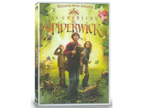 DVD As Crónicas De Spiderwick — De: Mark Waters | Com: Freddie Highmore,Mary-Louise Parker,Nick Nolte,Sarah Bolger,Andrew McCarthy