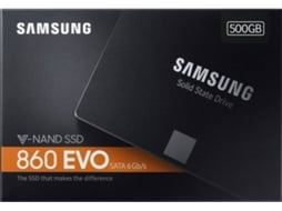 Disco SSD SAMSUNG 500Gb 860 EVO Basic — 500 GB