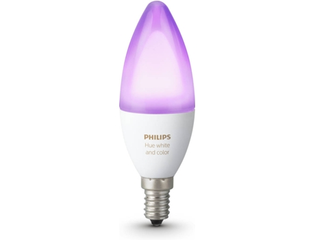 Lâmpada PHILIPS HUE B39 E14  Branco e Cor — Smart Lighting / E14