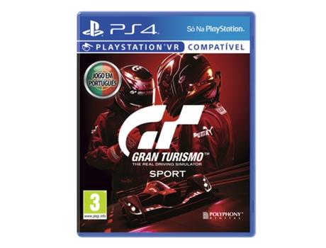 Jogo PS4 Gran Turismo Sport - Hits (Corridas - M3) | [7031945 ]