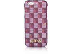 Capa GUESS Jet Set iPhone 6, 6s Rosa — Compatibilidade: iPhone 6, 6s