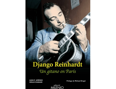 Livro Django Reinhardt de Juan P. Durand Emilie Jimenez
