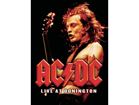 DVD AC/DC - Live At Donington — Pop-Rock
