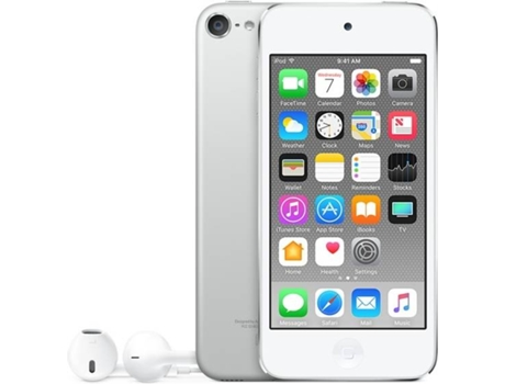 Leitor MP5 APPLE iPod Touch 128GB Prateado — 128GB