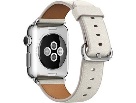 Bracelete APPLE Watch  Classic  White — 38MM | Smartwatch não incluído
