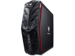 Desktop Gaming ACER Predator AG1-710 — Intel Core i7 | 16 GB | 128 GB SSD + 1 TB HDD