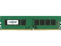 Memória RAM CRUCIAL 8GB (1x8GB) DDR4-2400MHz CL17 Single Ranked — 8GB | DDR4 | 2400MHz