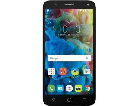 Smartphone ALCATEL Pop 4 (5) 8GB Branco — Android 6.0 / 5.0'' / Quad-core 1.1 GHz / 1GB RAM / Dual SIM